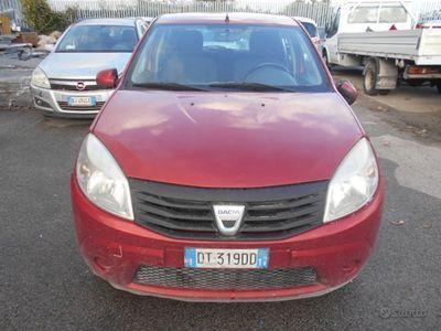 usata Dacia Sandero Sandero1.4 8V GPL Ambiance