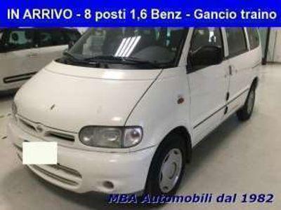 used Nissan Serena 1.6i 16V SLX MINIBUS 8 Posti Gancio traino