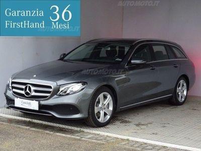używany Mercedes 220 Classe E Station Wagond Auto Business Sport del 2017 usata a Mosciano Sant'Angelo