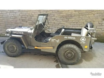 used Jeep Willys WillysMILITARY FORD ITALIA AUT