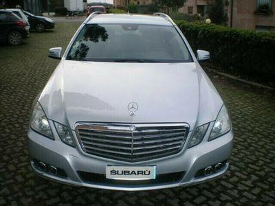 usata Mercedes E350 ClasseCGI S.W. BlueFFICINCY **PRFTTA GARANTITA**