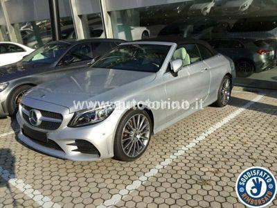 usata Mercedes C220 CLASSE C CABRIOd Auto 4MATIC AMG Line