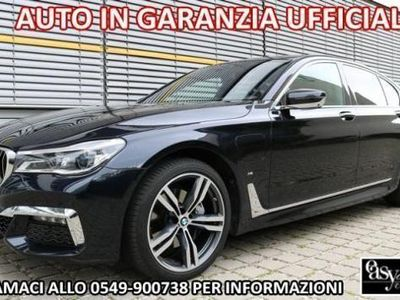 usata BMW 740 e hybrid m-sport full optional laser 20""