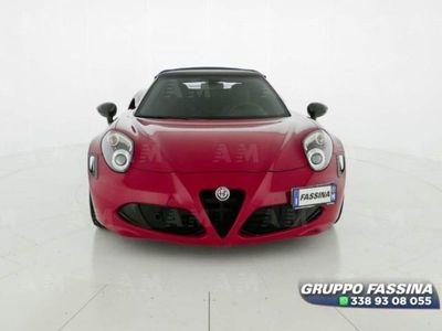 brugt Alfa Romeo 4C Spider 4C 1750 TBi Spider del 2017 usata a Milano