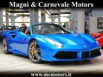 usata Ferrari 488 SPIDER|LIFT SYSTEM|SPECIAL PAINT BLU CORSA|DAYTONA Benzina