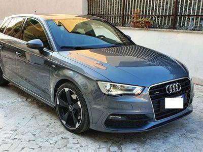 usata Audi A3 2.0 tdi 184cv quattro sline certificata