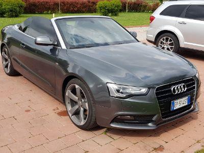 brugt Audi A5 Cabriolet tdi 2.0 tdi S-line
