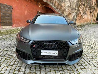 usata Audi RS6 - 4.0 tfsi - grigio daytona - akrapovic