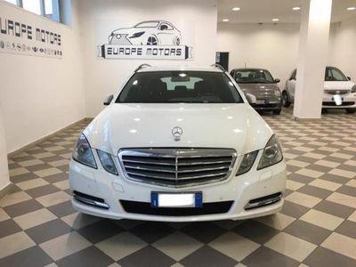 usado Mercedes E220 CDI S.W. BlueEFFICIENCY Avantgarde#FULL OPTIONALS
