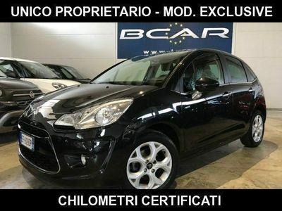 usata Citroën C3 1.4 vti 95 exclusive unico propriet.-km certificat