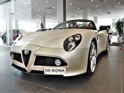 used Alfa Romeo 8C Spider 8C