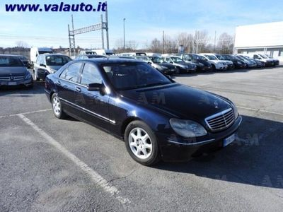 usata Mercedes S320 ClasseCDI cat del 2002 usata a Mondovi'