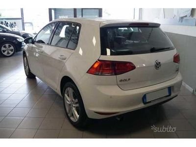 usata VW Golf VII serie 1.6 TDI highline kmo