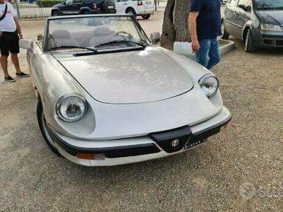 usata Alfa Romeo Spider - 1984 SI ACCETTA BARCA OPEN
