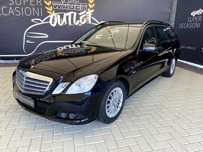 usata Mercedes E220 CDI S.W. BlueEFFICIENCY -2013