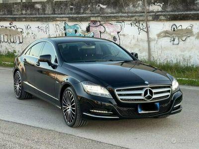 usata Mercedes CLS350 total black 2012