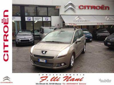 usado Peugeot 5008 1.6 HDi 110CV Tecno GARANZIA 1 ANNO