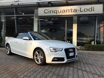usado Audi A5 Cabriolet 2.0 TDI clean diesel multitronic Business P