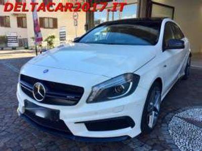 usata Mercedes A45 AMG 4Matic TETTO/NAVI/SCARICHI/BOLLO PAGATO Benzina
