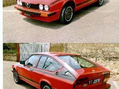used Alfa Romeo Alfetta GT/GTV - 1982 Grand Prix