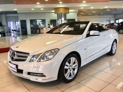 gebraucht Mercedes E220 CDI Cabrio Avantgarde km 31200 !! GARANZIA TOTALE