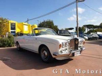 usata Rolls Royce Corniche Cabriolet ISCRITTA ASI Benzina