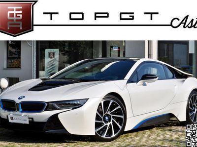 """usata BMW i8 coupe' uff. Italiana, Bianco perla 20"""", PERMUTE"""