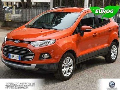 usata Ford Ecosport 1.5 tdci Titanium 95cv E6