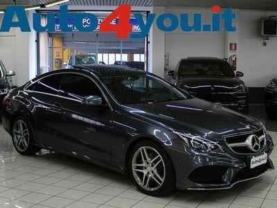 """usata Mercedes E350 Coupé BlueTEC Aut. Premium Amg """"Tetto-Pelle-Led"""" rif. 12786847"""