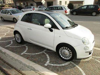 usata Fiat 500 1.2 Lounge full optional garantita con tetto panor