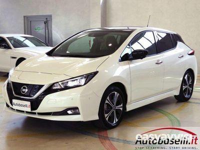 usata Nissan Leaf tekna pack propilot park elettrica pelle led