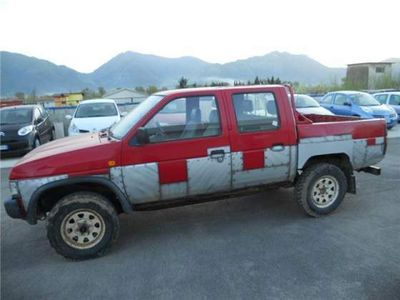 usado Nissan King Cab 2.5 D PICK UP - CASSONE - DOUBLE CAB