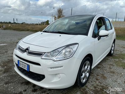 usata Citroën C3 1.2 benzina- 5 porte- clima- anno 2013
