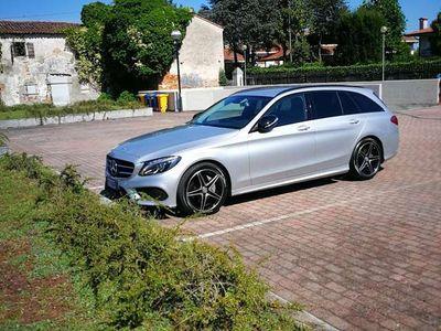 usata Mercedes C220 (BlueTEC) d T 7G-TRONIC AMG Line