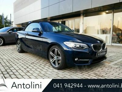 usata BMW 220 d Cabrio Advantage