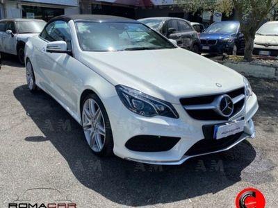 usata Mercedes 250 Classe E CabrioBlueTEC Cabrio Premium usato