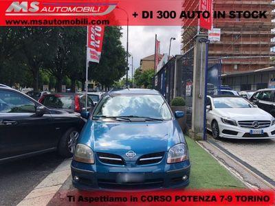 usata Nissan Almera Tino 2.2 TD Di Luxury Unicoproprietario