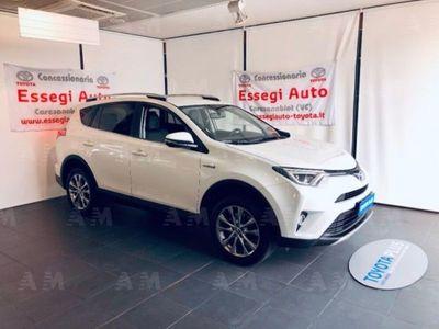 usata Toyota RAV4 Hybrid 4WD Lounge del 2016 usata a Albano Vercellese