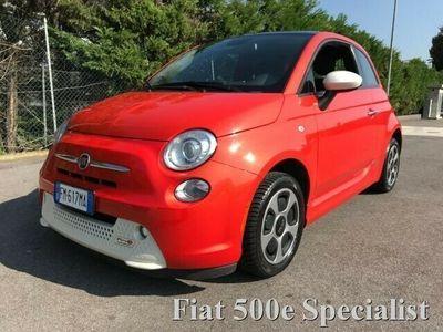 usata Fiat 500 Abarth 500 ELETTRICA BEV LOOK ORANGE TETTO
