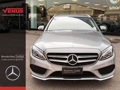 usata Mercedes E250 Classe C Classe C-S205 2014 SW Diesel C SW d (BT) Premium auto