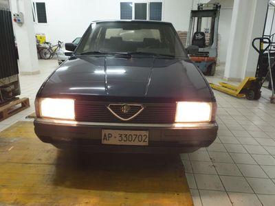 usata Alfa Romeo 90 4 CILINDRI 60000KM PARI AL NUOVO DA COLLEZIONE