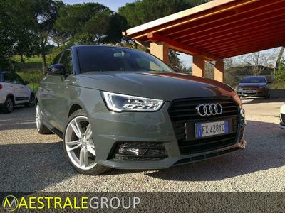 usata Audi A1 1.6 tdi 116cv - sline pack - navigatore-sens.park