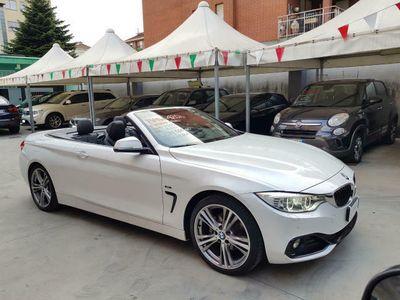 usata BMW 420 D Cabrio SPORT FULL OPTIONAL UNIPROP. km. 34.000