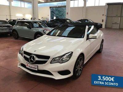 usata Mercedes 220 CLASSE E CABRIO E cabriod (BT) Sport E6