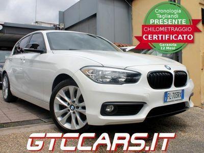 used BMW 116 Advantage EURO 6 UNIPRO' ITALIANA TAGLIANDI