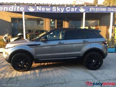 brugt Land Rover Range Rover evoque range