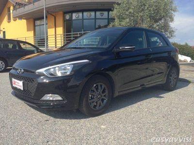 usata Hyundai i20 1.1 crdi 12v 5 porte blackline km certificati diesel