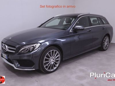 usata Mercedes C250 ClasseS.W. 4Matic auto Premium Tetto EURO6 Diesel