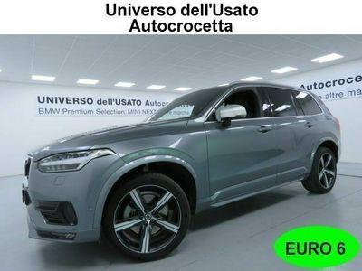 usata Volvo XC90 D5 AWD Geartronic 7 posti R-design EURO 6