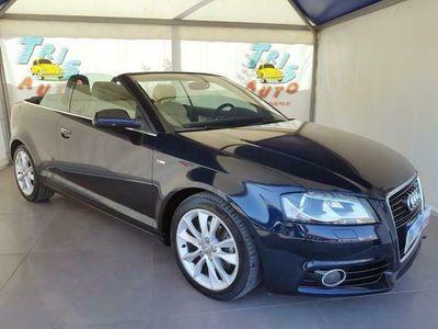 usata Audi A3 Cabriolet S-LINE 2.0 TDI (NAVI-PELLE-FARI LED BI-XENO)